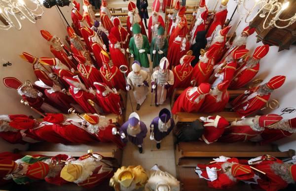 A Wislikofen, in Svizzera, in 90 al sinodo prenatalizio