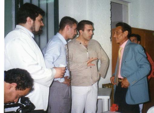 L'editore incontra i cittadini Giugno 1996 Napoli