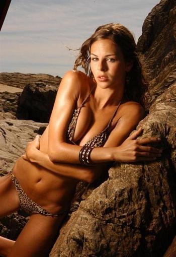 La fidanzata di Lavezzi è la modella argentina Yanina Screpante