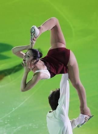 Mosca, al Gran Prix sul ghiaccio la prova del duo italiano