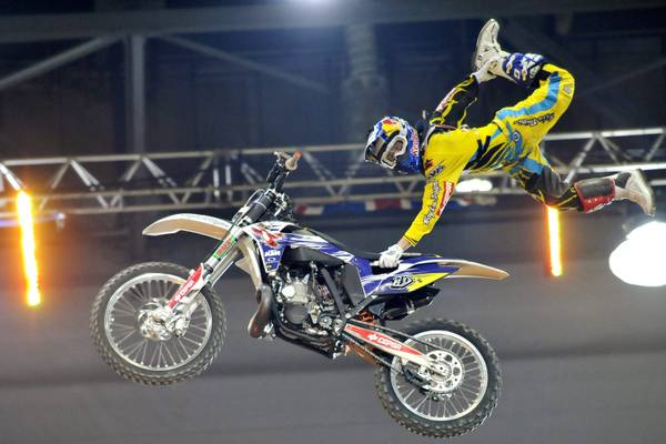 Supercross a Ginevra: in aria moto e pilota, Danny Torres