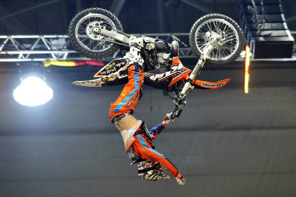 Ginevra, Supercross: ruote all'aria il francese Jey Rouannet