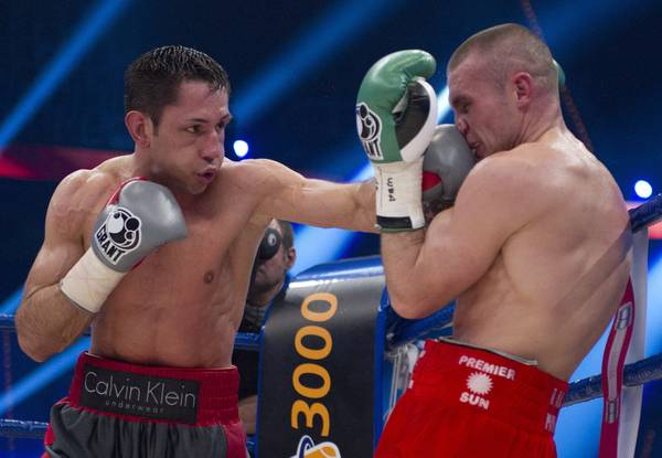 Boxe WBA a Mannheim, in Germania: sul ring Sturm vs Murray