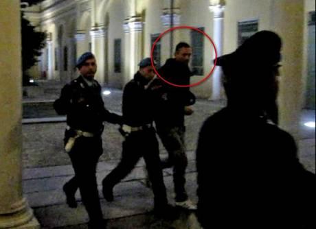 Il calciatore Alessandro Zamperini arrestato