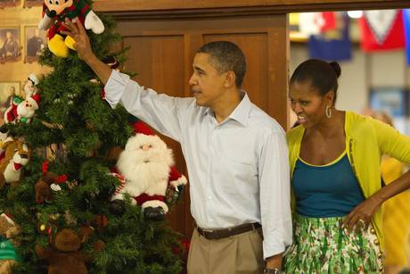 Obama in vacanza