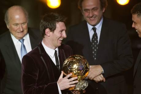 Pallone d'Oro, tripletta di Messi