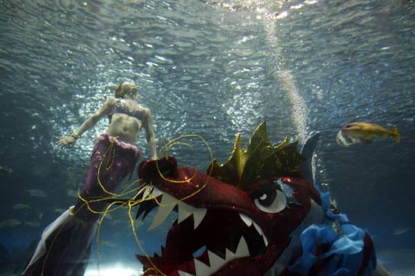 Il Capodanno cinese e' imminente, 'danza del drago' a Manila