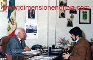 Ex sindaco di Volla (NA) Antonio Iorio con l'editore Giuseppe Piccolo