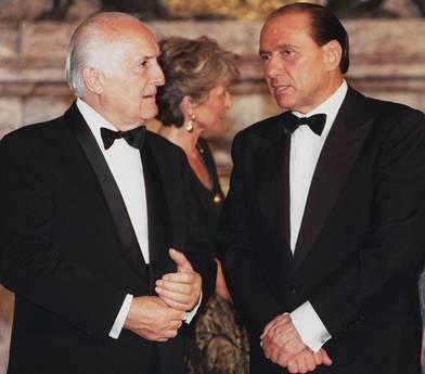 Scalfaro con Berlusconi, 25 ottobre 1996