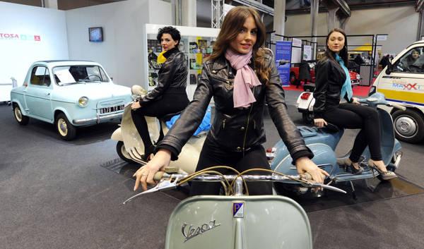 Al Lingotto in mostra auto e moto d'epoca