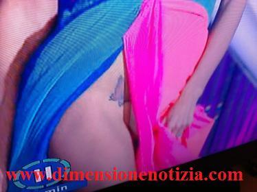 Belen senza mutande a Sanremo