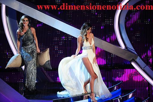 Belen e Elisabetta a Sanremo