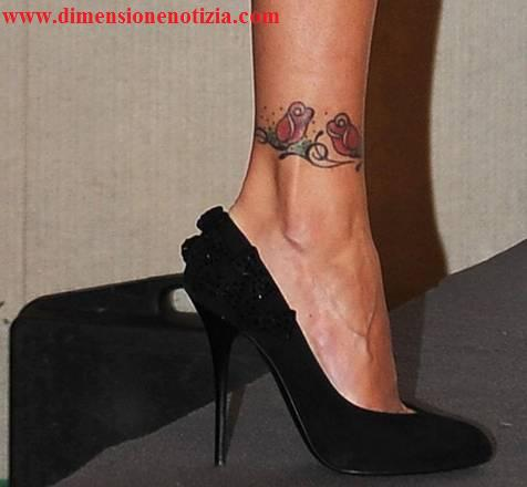 Anche all'Ariston e' tattoo-mania