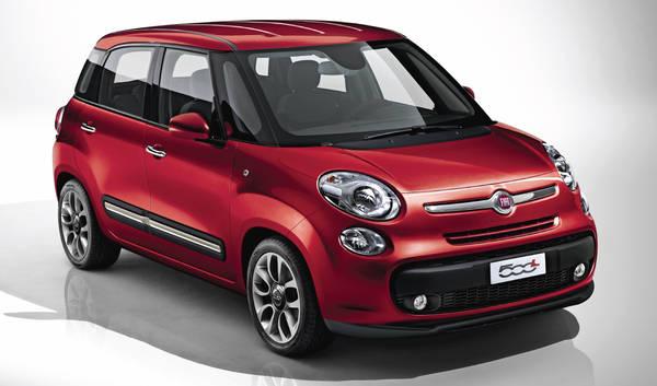 Fiat, tante novita' a Ginevra - Fiat 500 Large