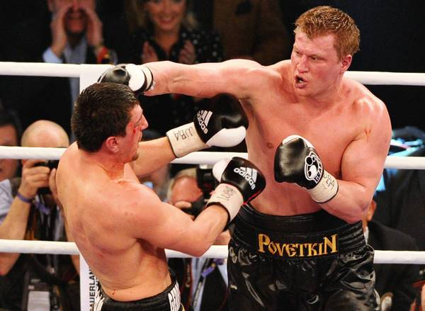 Boxe, pesi Massimi a Stoccarda: sul ring Huck vs Povetkin