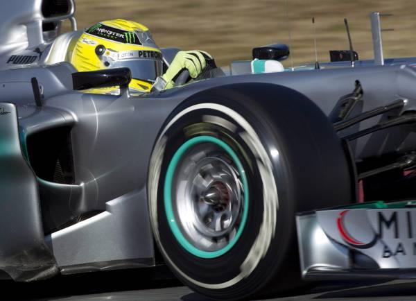 La F1, i team s'allenano, Rosberg è in Spagna