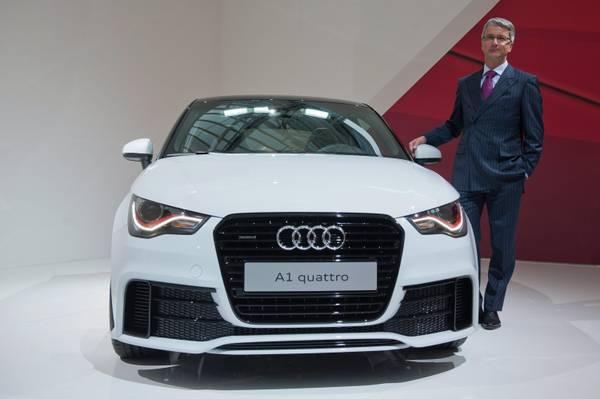 Rupert Stadler e la Audi A1 Quattro