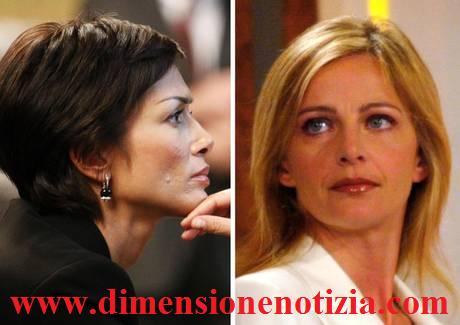 Duello TV a Rai Tre tra Luisella Costamagna e Mara Carfagna