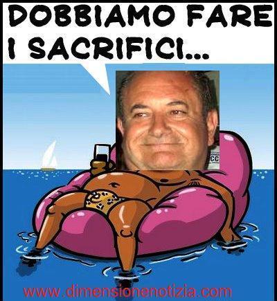 Dobbiamo fare i sacrifici, Salvatore RICCI