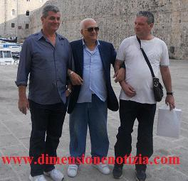 Volla (NA) da sinistra: Salvatore Veneruso, Michele Rea , Felice Petrella