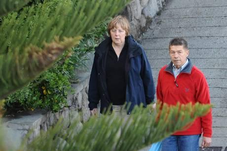 Pasqua a Ischia per Angela Merkel. Il cancelliere tedesco, assieme al marito Joachim Sauer