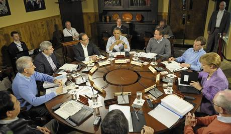 G8: accordo su crescita, Ue agisca Passa linea Obama-Hollande-Monti
