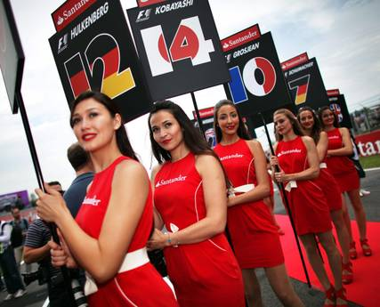 F1: Grid girls, protagoniste in pista