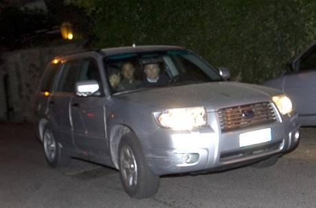 Calcioscommesse: L'arresto a Roma di Stefano Mauri