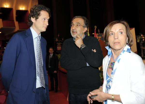 Il ministro Fornero e i vertici della Fiat a Torino