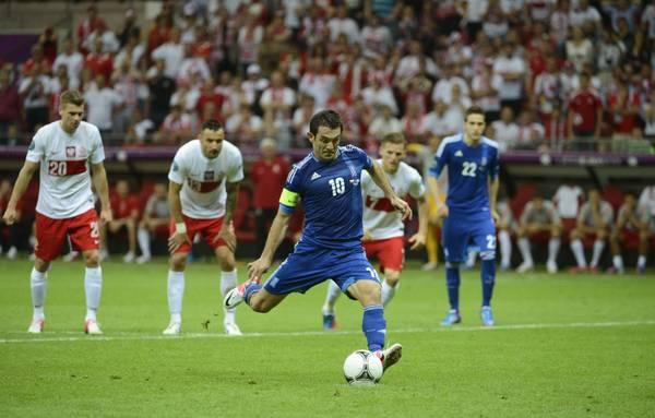 Nella sfida inaugurale del torneo Europeo 2012 Polonia-Grecia 1-1