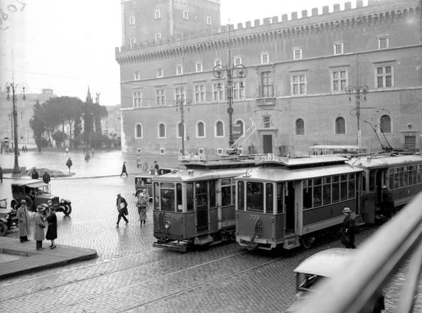 Bus d'altri tempi a Roma