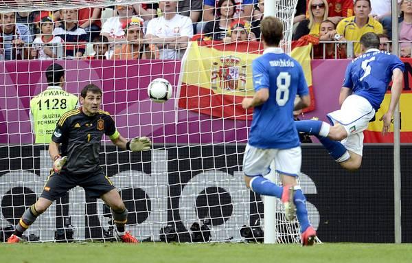 Spagna-Italia 1-1