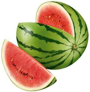 L'anguria ha circa 15 calorie ogni 100 grammi, una fetta di anguria media (300 gr) ha 45 calorie