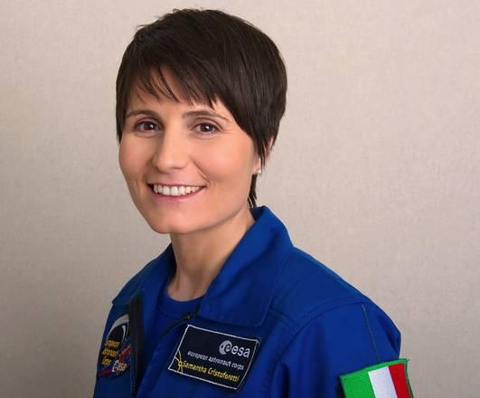 Nel 2015 la prima donna italiana nello spazio Samantha Cristoforetti