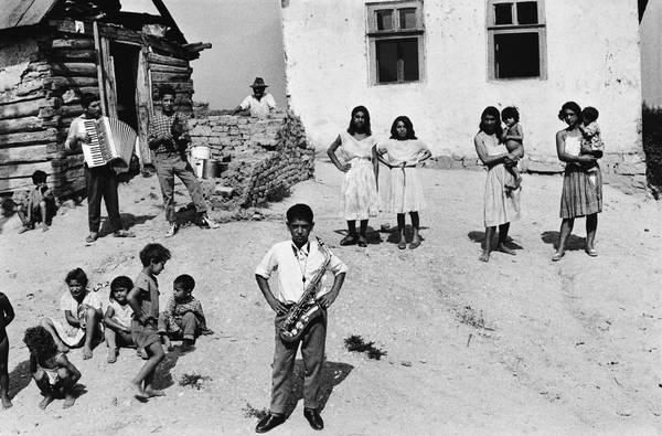 Tutta la malinconia dei Gitani in mostra, 'Zingari' del grande fotografo ceco Koudelka