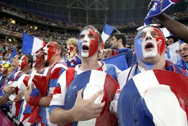 Tifosi francesi