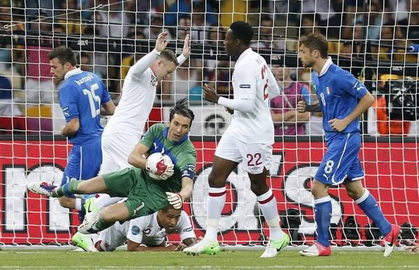 Inghilterra-Italia: diretta foto