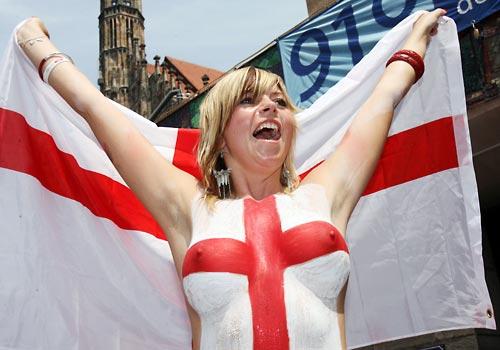 Tifosa inglese