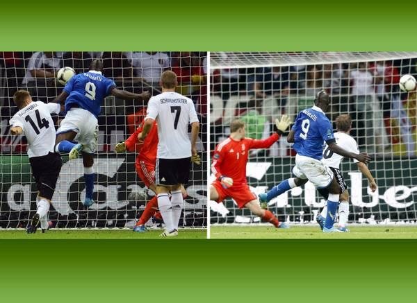 L'altro Supermario fa a pezzi la Germania. I due gol di Balotelli