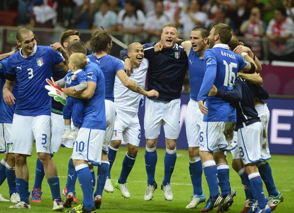 Gioia azzurra, finale europea dopo 12 anni
