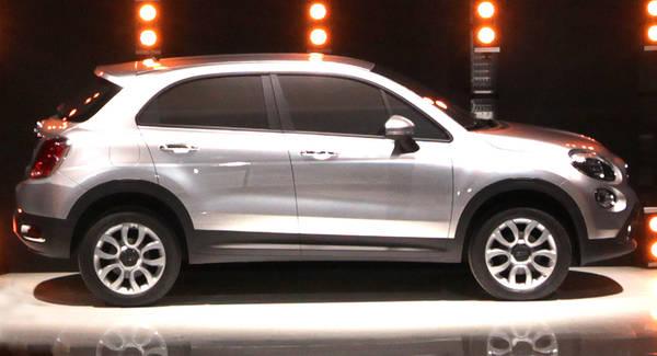 Fiat svela il prossimo suv compatto Made in Mirafiori si chiamerà 500X