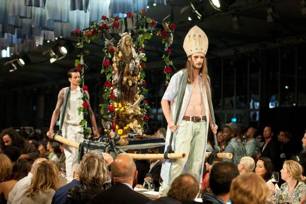 Moda a Berlino, e' uno shock all'evento ''Bread & Butter''