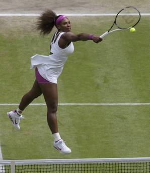 Serena Williams conquista Wimbledon. In finale sconfitta A. Radwanska