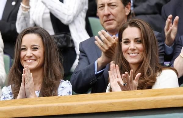Le sorelle Middleton a Wimbledon. Kate e Pippa per la finale maschile