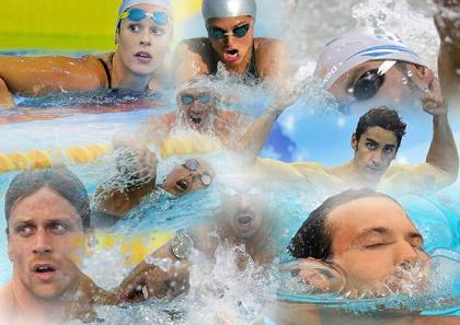 Olimpiadi Londra: 'Supereroi' in vasca, show garantito