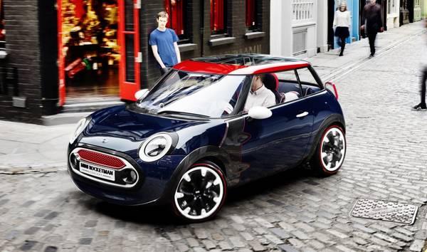 La futura Mini ha 3 cilindri e debutta a Francoforte