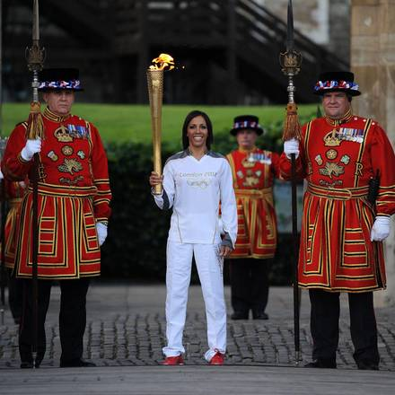 Torcia olimpica arrivata a Londra