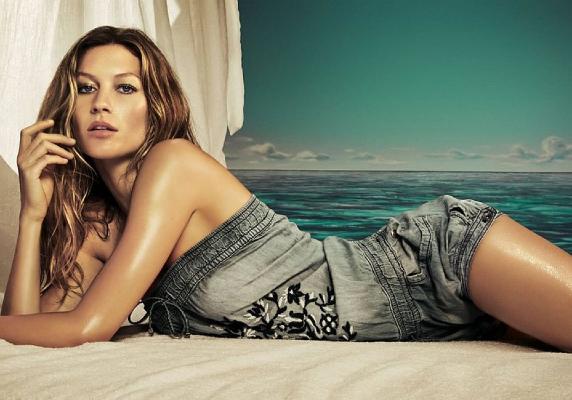 Le top model più pagate al mondo. 10 milioni di dollari l'anno. Gisele Bundchen