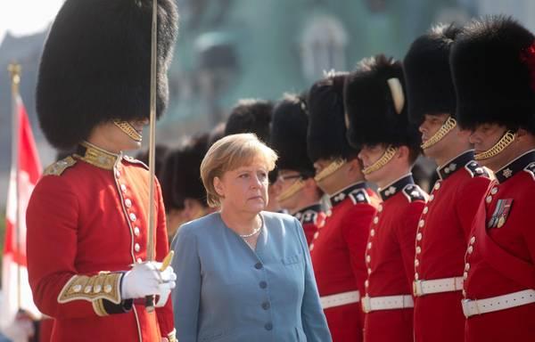 La Cancelliera tedesca Angela Merkel in visita in Canada