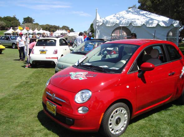 Fiat: presenza in Usa si rafforza con 500 Turbo. Reveal al Concorso Italiano evento tutto tricolore